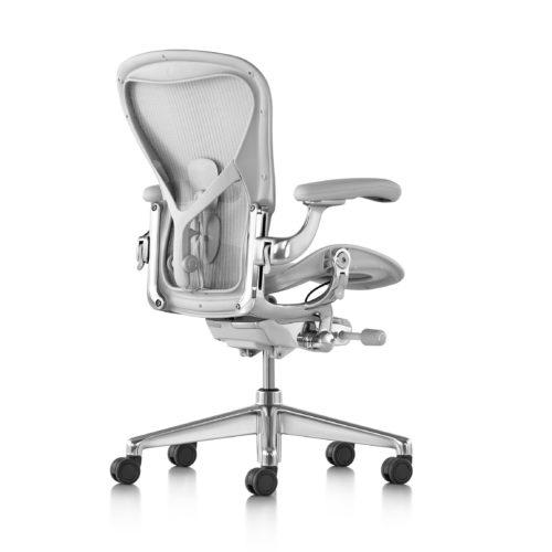 Aeron Chair, Mineral, Adjustable PostureFit SL